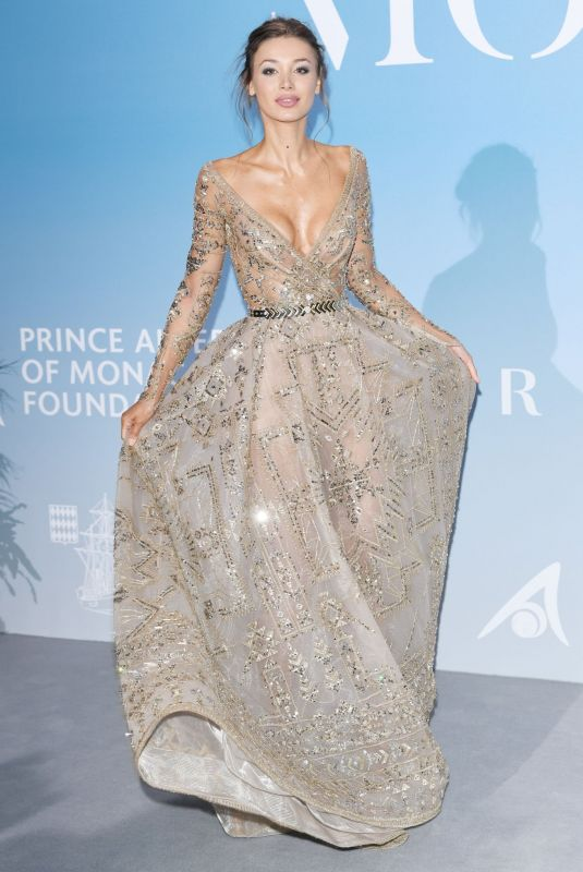 Lara Leito At the Gala for the Global Ocean
