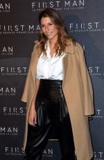 Laury Thilleman Attending the premiere of First Man in Paris, France