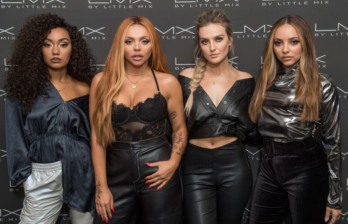 Leigh Anne Pinnock Jesy Nelson Perrie Edwards And Jade Thirlwall