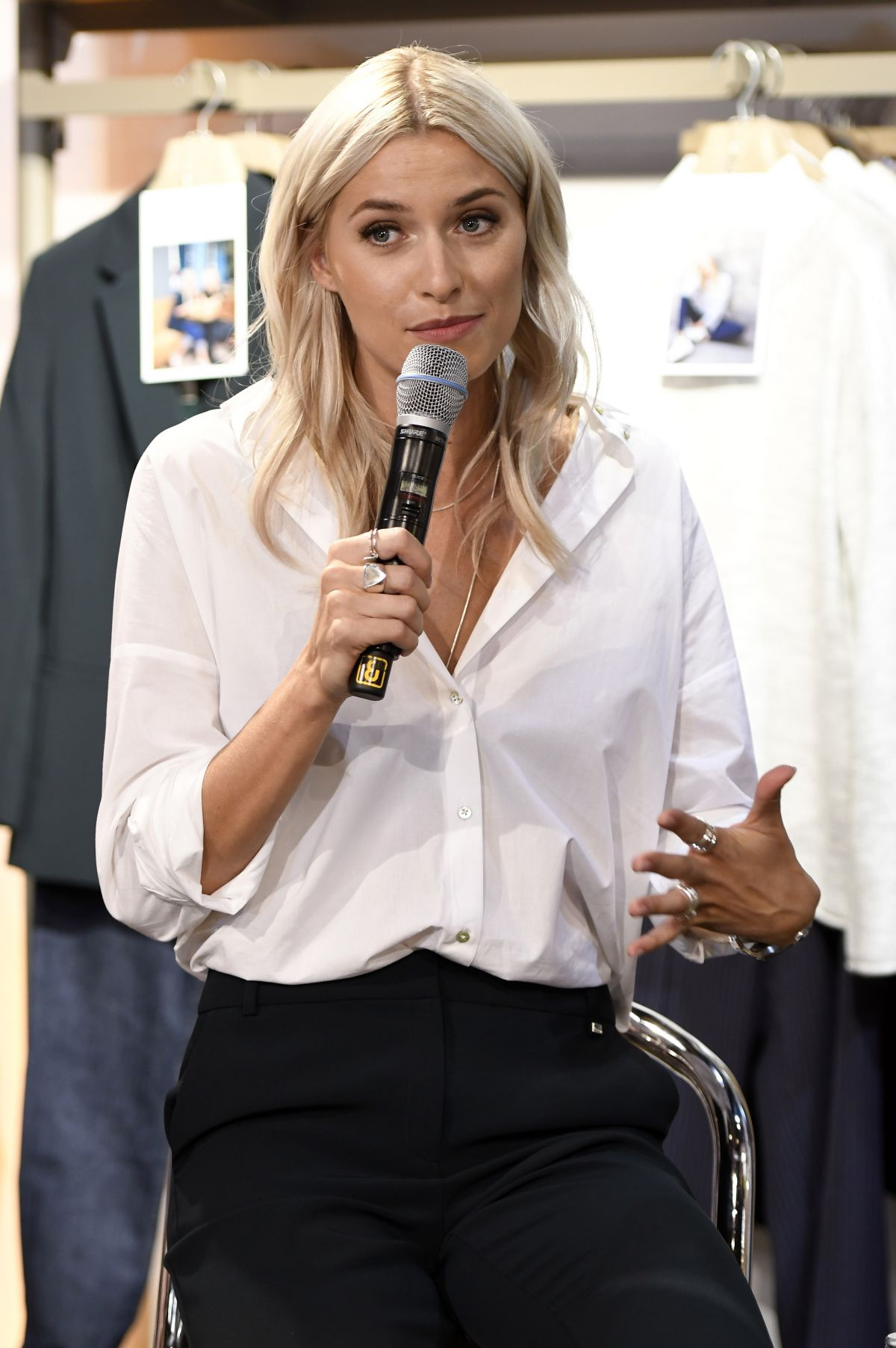 Lena Gercke At Style Your Life At Esprit Store In