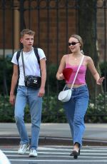 Lily-Rose Depp Out and about in NY