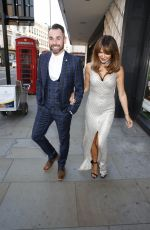 Lizzie Cundy At National Reality TV Awards in London