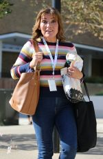 Lorraine Kelly Outside ITV Studios in London