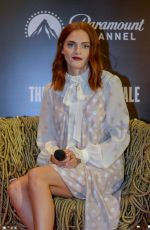 """Madeline Brewer During a press conference for """"The Handmaid"""