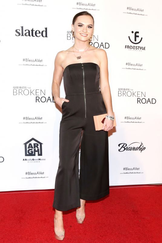 Madeline Carroll At God Bless Broken Road LA Screening