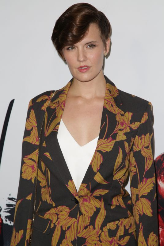 Maggie Grace At The Walking Dead Season 9 Special Screening Event in Los Angeles