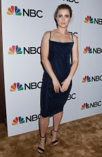Melissa Roxburgh At NBC and The Cinema Society Host a Party for The Cast of NBC
