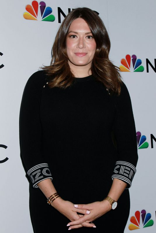 Michelle Collins At NBC and The Cinema Society Party for The Cast of NBC
