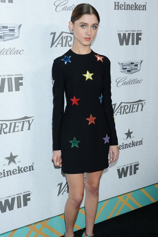 Natalia Dyer At Variety and Women In Film