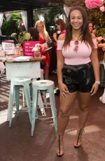 Nia Sioux At Burn Cook Book Boozy Brunch launch at Sofitel Los Angeles