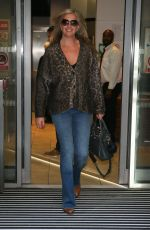 Penny Lancaster At BBC Radio Two Studios in London