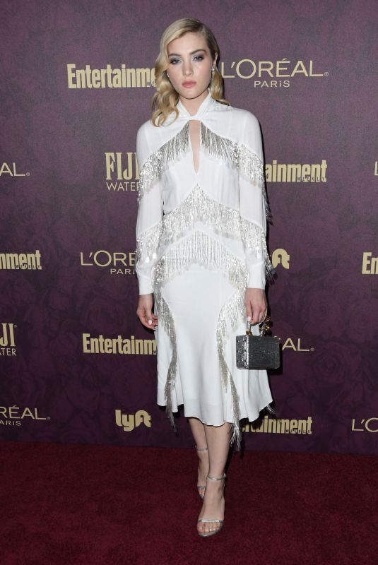 Skyler Samuels At 2018 Pre-Emmy Party hosted by Entertainment Weekly and L