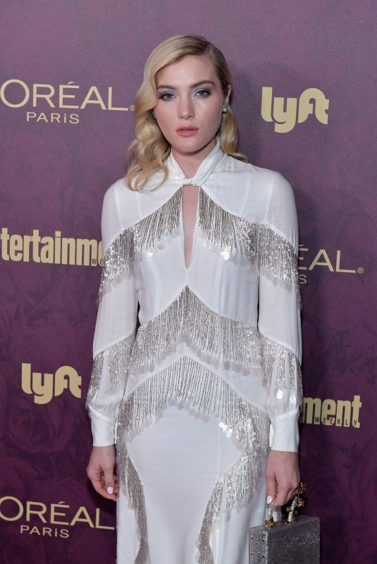 Skyler Samuels At Entertainment Weekly and L