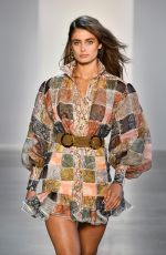 Taylor Marie Hill At Zimmermann show during New York Fashion Week
