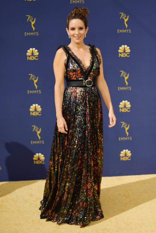 Tina Fey At the 70th Emmy Awards at Microsoft Theater in Los Angeles