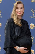 Yvonne Strahovski At 70th Emmy Awards at Microsoft Theater in Los Angeles