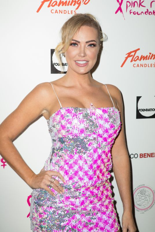 Aisleyne Horgan-Wallace At The Pink Ribbon Fundraiser Foundation Event in London