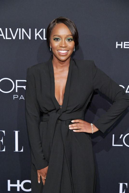 Aja Naomi King At 25th Annual ELLE Women in Hollywood Celebration in Los Angeles