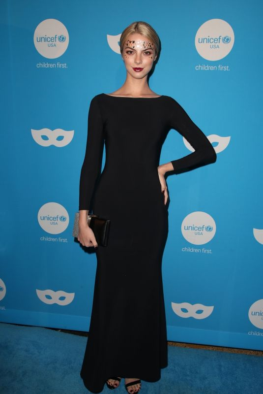 Allie Marie Evans At UNICEF Masquerade Ball, Los Angeles