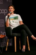 Aly Michalka At New York Comic-Con