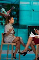 Aly Raisman On the Today Show in NYC