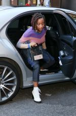Amandla Stenberg Out in London