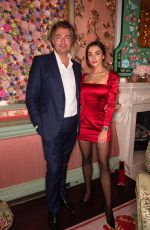 Amy Jackson At Cartier Dinner party at Annabel