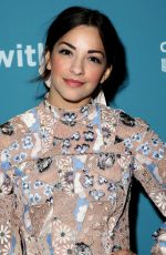 Ana Villafane At Power of Broadway, Byant Park Grill, New York