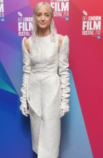 Andrea Riseborough Attending the Premiere of Nancy as part of the 62nd BFI London Film Festival