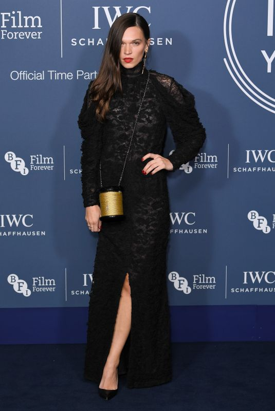 Anna Brewster At IWC Schaffhausen Gala Dinner in honour of the BFI, London