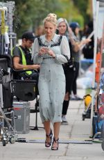 "Anna Camp Filming scenes for her upcoming comedy movie ""The Wedding Year"" in Los Angeles"