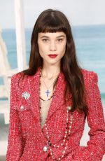 Astrid Berges-Frisbey Attends the Chanel show at Le Grand Palais as part of Paris Fashion Week in Paris