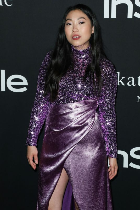 Awkwafina, Nora Lum At InStyle Awards, Arrivals, Los Angeles