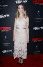 Barbara Dunkelman At the Heroes After Dark event at New York Comic Con