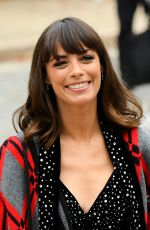 Berenice Bejo At Miu Miu show, Spring Summer 2019, Paris Fashion Week, France