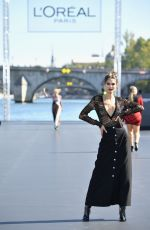 Bianca Balti Walks the runway during Le Defile L