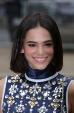 Bruna Marquezine Attends the Miu Miu show as part of the Paris Fashion Week
