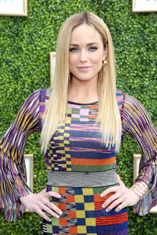 Caity Lotz At The CW Network