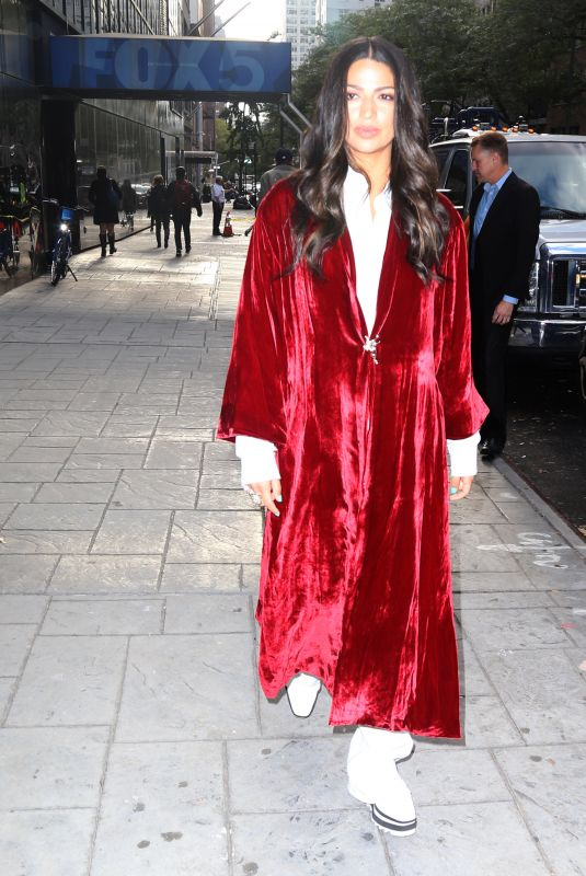 Camila Alves McConaughey Stepping out in NYC