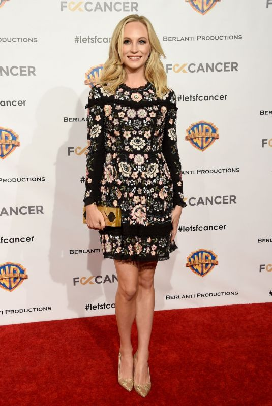 Candice King At FCancer