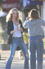 Candice King Out in Los Angeles