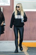 Carmen Electra Leaves a medical clinic in Beverly Hills