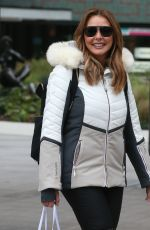 Carol Vorderman Outside ITV Studios in London