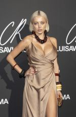 Caroline Vreeland At CR Fashion Book x Luisaviaroma party, Spring Summer 2019, Paris Fashion Week, France