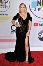 Carrie Underwood At 2018 American Music Awards at Microsoft Theater in Los Angeles