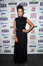 Catherine Tyldesley At The Charity Boxing Nights Event at The Hilton Hotel