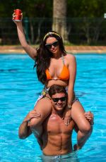 Charlotte Dawson In Bikini in Spain