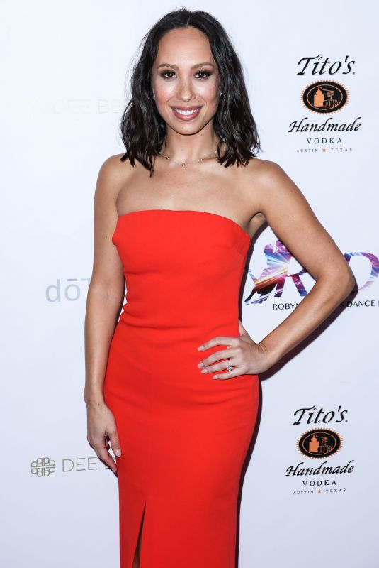 Cheryl Burke At The Ride Foundation
