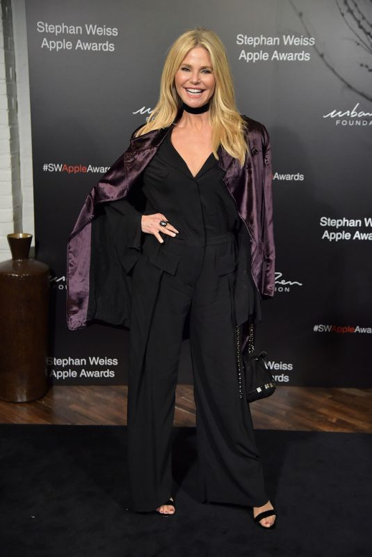 Christie Brinkley At 2018 Stephan Weiss Apple Awards in NYC