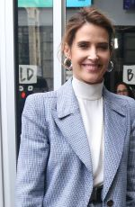 Cobie Smulders Outside AOL Build in NYC